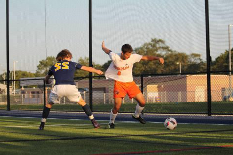 Soccer prepares for Districts following silver division conference victory